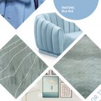 Blue Bell Pantone Color: the best modern rugs for this Fall