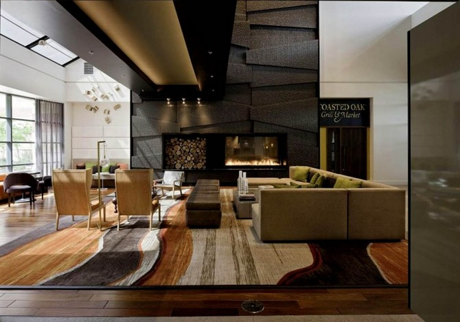 Meet the best Hotel area rugs that will make a statement [object object] Meet the best Hotel area rugs that will make a statement From hotel lobbies to entertainment company front halls Weaver Looms custom commercial area rugs industry high class coffee color texture soft quality cotton