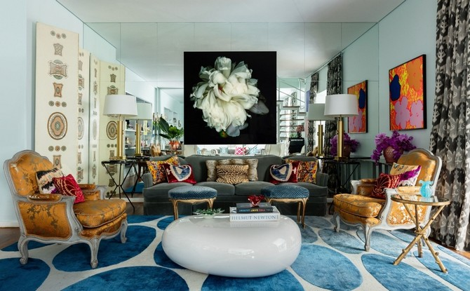 Living Room Luxurious using the perfect rug area rug How to turn your Living Room Luxurious using the perfect area rug gallery 1477361247 colorful sao paulo duplex living room