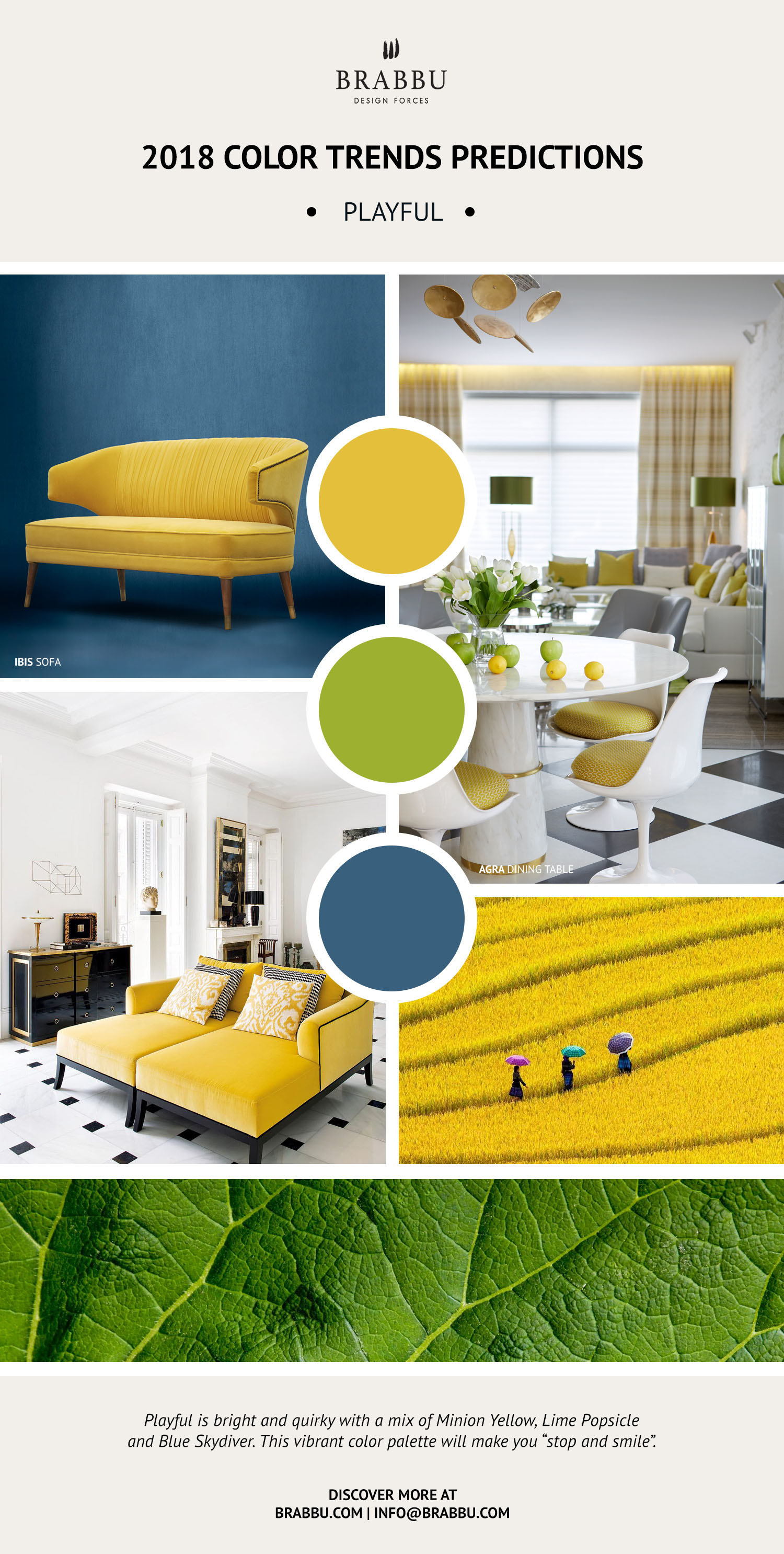Pantone Color Trend Predictions For 2018 color trend Pantone Color Trend Predictions For 2018 4 1