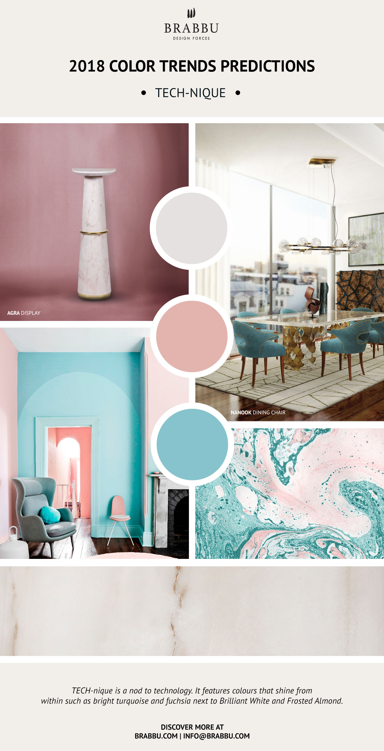 color trend Pantone Color Trend Predictions For 2018 6 1