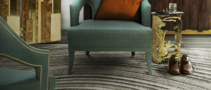 Contemporary Rugs that own the living room!