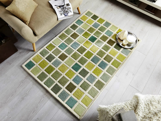 green rug Green rug: a warm garden into your living room! green rug5