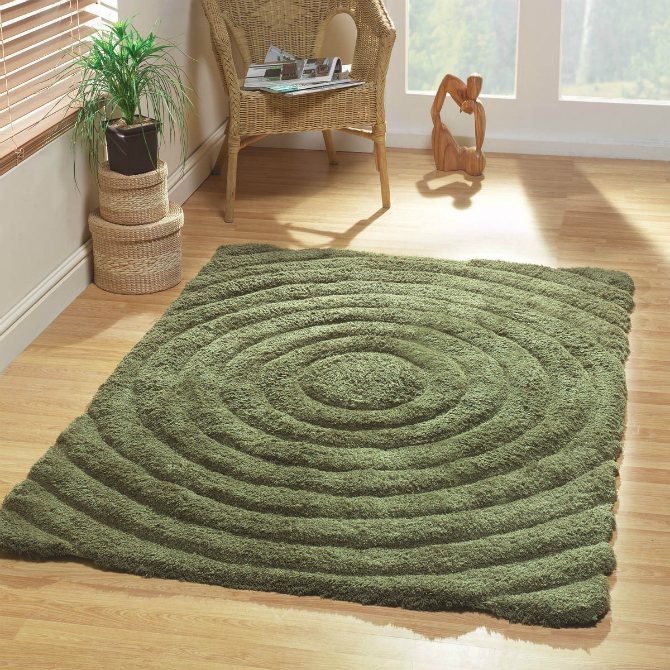 green rug Green rug: a warm garden into your living room! green rugs3