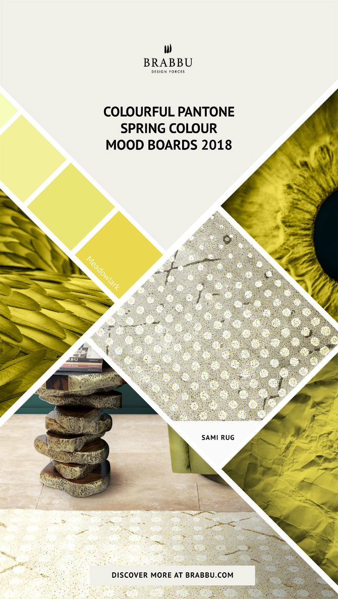 Spring Moodboards  spring moodboards Incredible Contemporary Rugs Spring Moodboards with Pantone Colors 2018 Moodboards Rugs Press 1