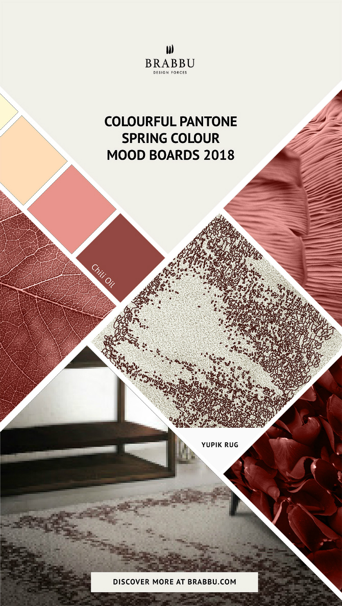 Spring Moodboards  spring moodboards Incredible Contemporary Rugs Spring Moodboards with Pantone Colors 2018 Moodboards Rugs Press 4