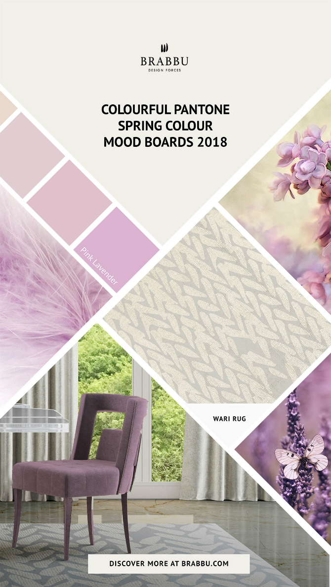 Spring Moodboards  spring moodboards Incredible Contemporary Rugs Spring Moodboards with Pantone Colors 2018 Moodboards Rugs Press 5