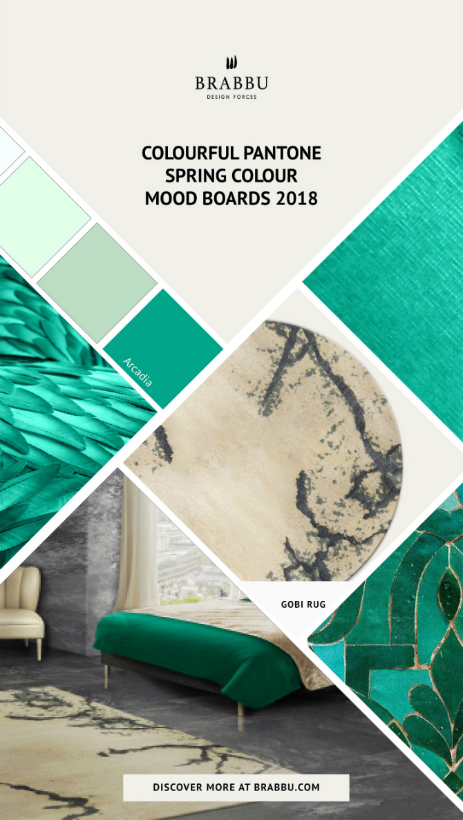 spring moodboards Incredible Contemporary Rugs Spring Moodboards with Pantone Colors 2018 Moodboards Rugs Press 6