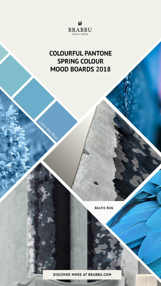 spring moodboards Incredible Contemporary Rugs Spring Moodboards with Pantone Colors 2018 Moodboards Rugs Press