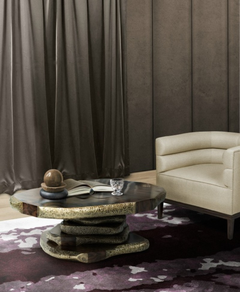 The best Modern Rugs for your Living Room Design living room design The best Modern Rugs for your Living Room Design 126 Latza center table Maa Armchair Copy 1