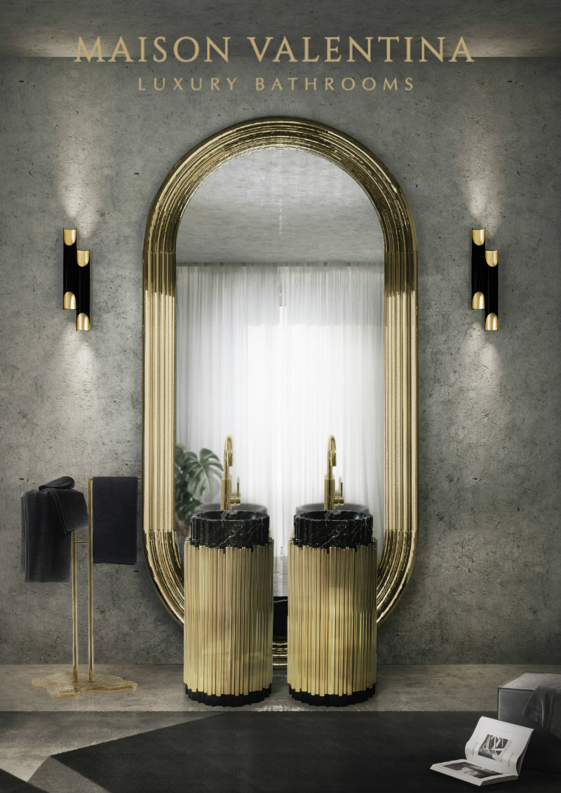 trends in interior design Trends in Interior Design: The new BRABBU Apartment Maison Valentina Bathroom News at Maison Objet 2017