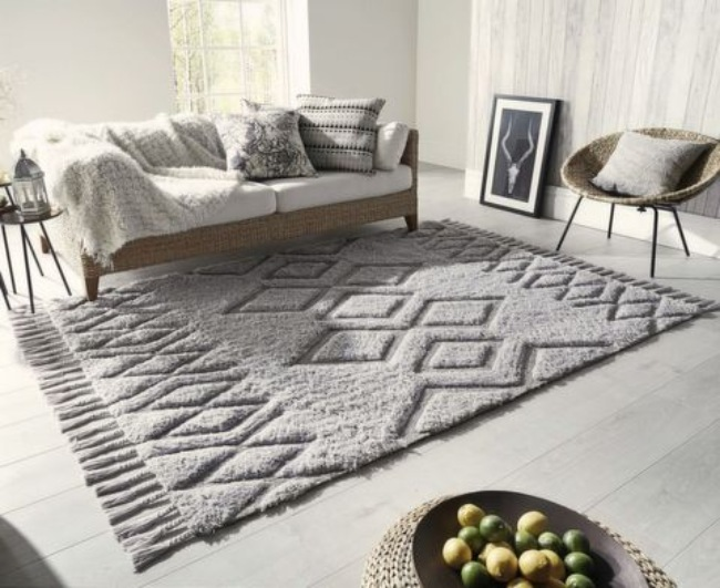 Modern Rooms stylish rugs Modern Rooms Guide with Stylish Rugs Modern Rooms with Stylish Rugs 4