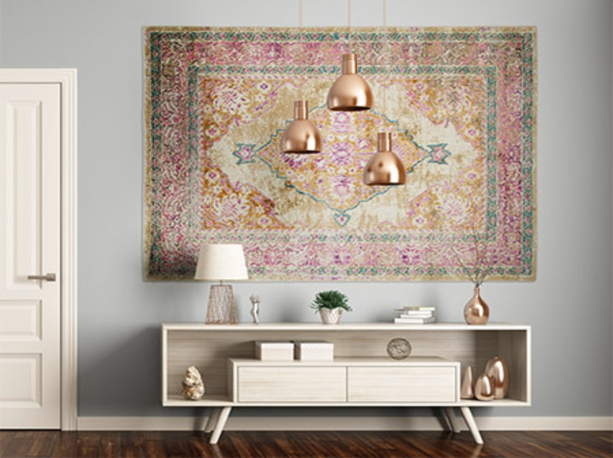 hanging rugs Hanging Rugs: Are they the new paintings? Hanging Rugs Are they the new paintings 11