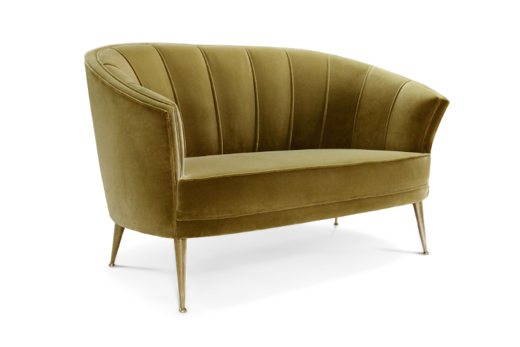 Mid-Century  mid-century Mid-Century Style: The Deluxe of Past Maya 2 Sofa