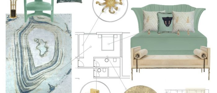 Neo Mint Moodboard moodboards 4 Colourful Moodboards to Inspire You NeoMint Moodboard 700x300