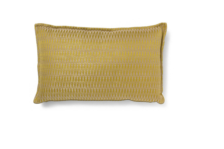 Mid-Century  mid-century Mid-Century Style: The Deluxe of Past Timberline Yellow Pillow