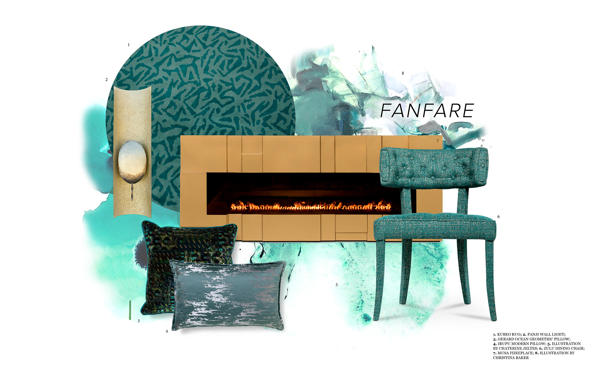 Fanfare Colour - Peacefulness Into Your Home Decoration fanfare Fanfare Colour – Peacefulness Into Your Home Decoration fanfare color