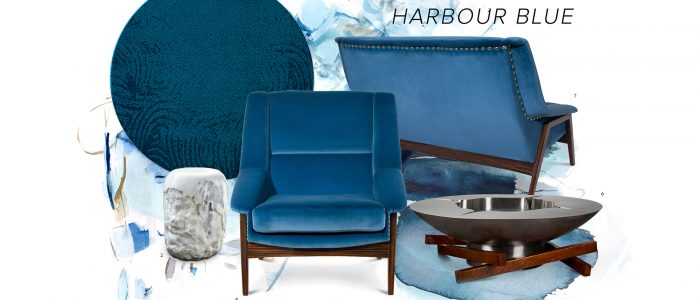 Harbour Blue- Always a good idea blue Harbour Blue- Always a good idea Moodboard 700x300