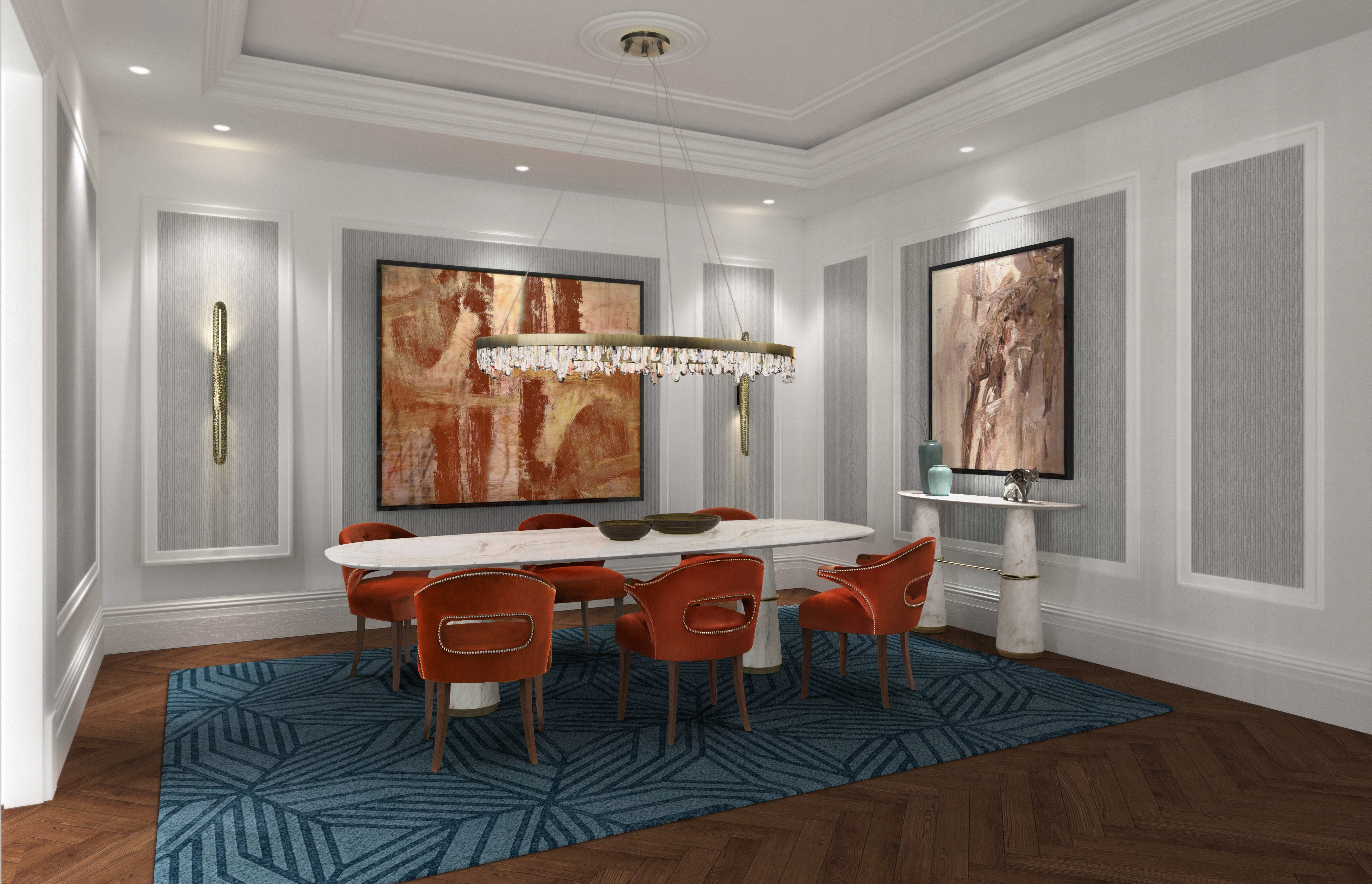 Dining Room Rugs: 5 Inspirations for 2020 dining room rugs Dining Room Rugs: 5 Inspirations for 2020 dining room 2