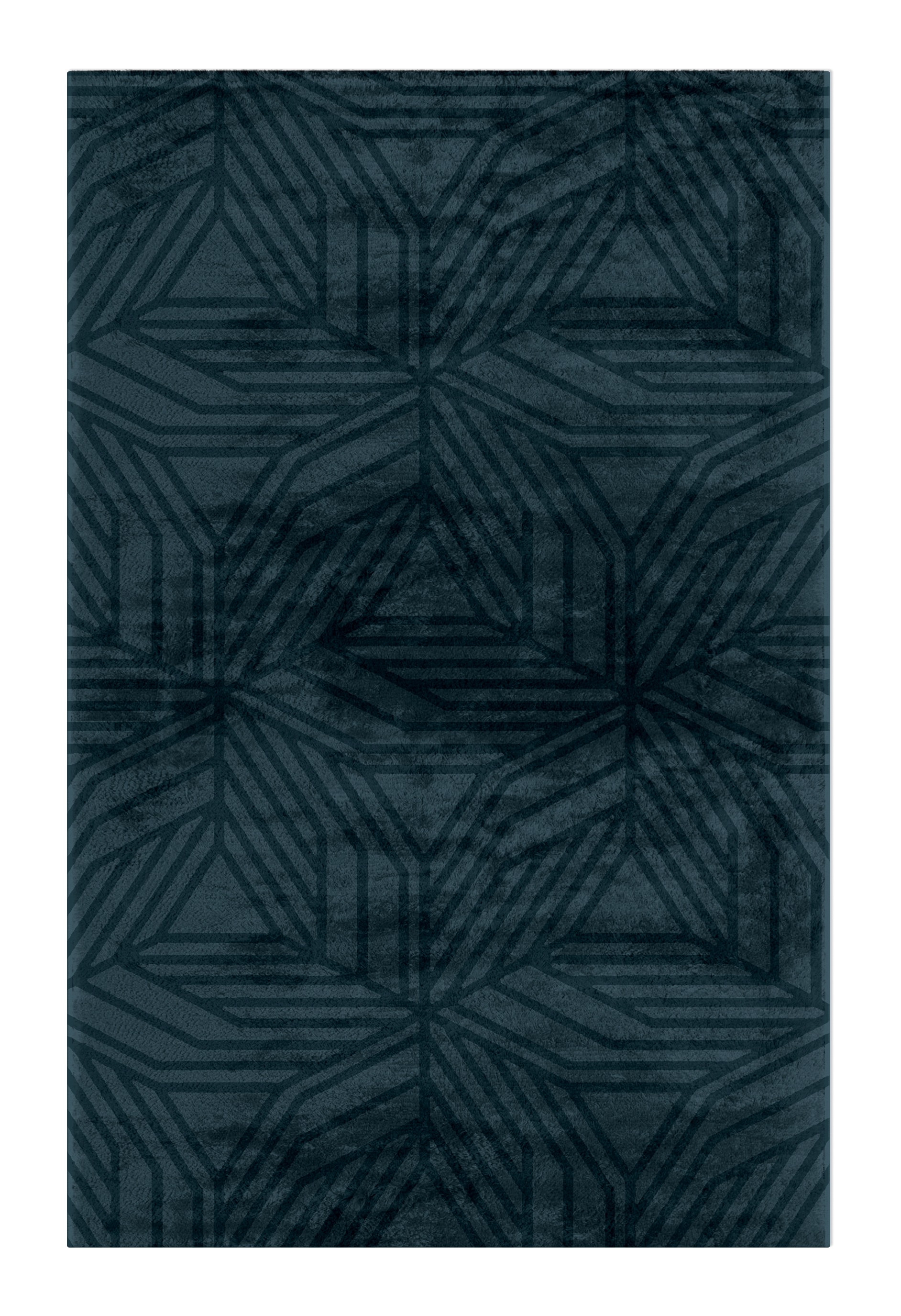 Blue Inspirations: The Tranquility Into Your Home blue Blue Inspirations: The Tranquility Into Your Home kaiwa rug