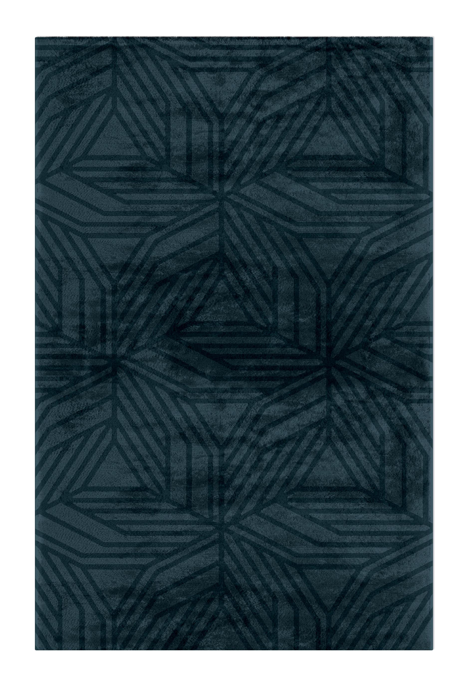 Geometric Rugs - The Power of 20th-century Avant-Garde Expression geometric rugs Geometric Rugs – The Power of 20th-century Avant-Garde Expression kaiwa rug geometric rugs