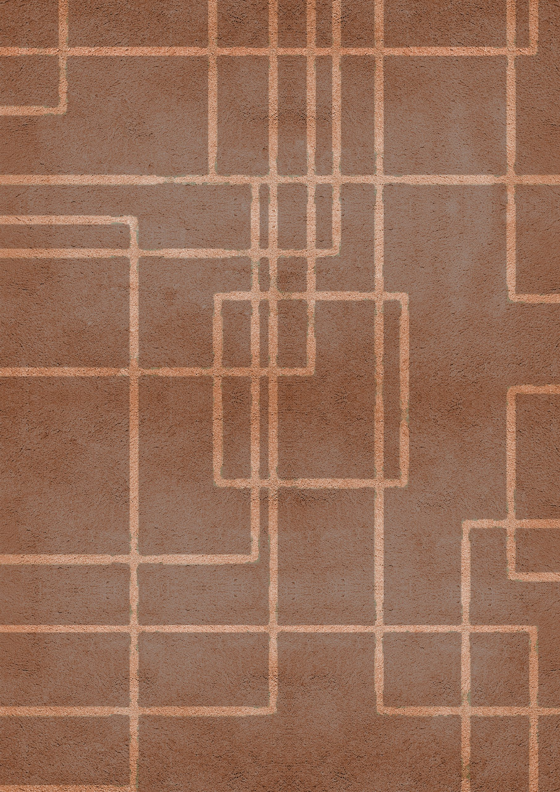 brown rugs Brown Rugs: Modern Design Inspirations To Embrace Earthier Shades terracotta HR scaled
