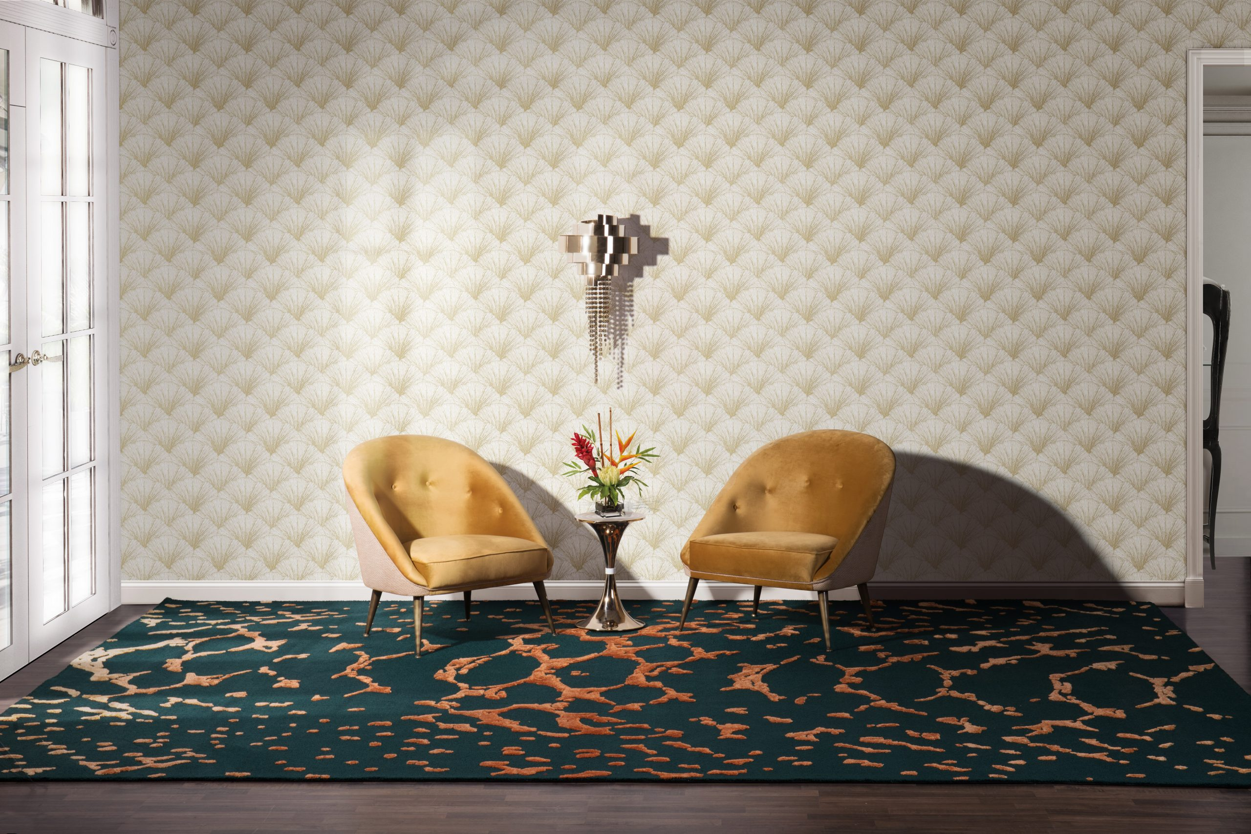 Green Rugs - Best Ideas To Add A Touch Of Color In Your Home green rugs Green Rugs – Best Ideas To Add A Touch Of Color In Your Home meta savage living room scaled