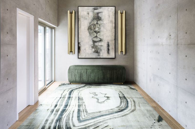 Agatha Rug Rug'Society handmade vs machine made deign rugs lounge rugs 25 Contemporary Lounge Rugs Options for a Modern Design 25 Contemporary Lounge Rugs Options for a Modern Design