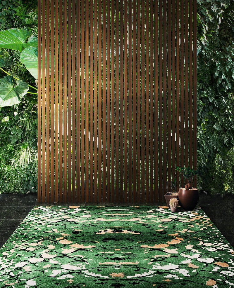 6 Innovative Ways Of Styling Any Green Rug green rug 6 Innovative Ways Of Styling Any Green Rug 8 Innovative Ways Of Styling Your Green Rugs 7