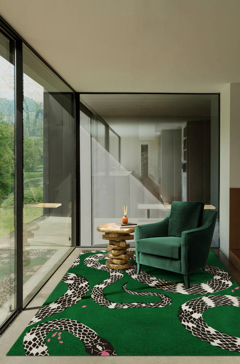 6 Innovative Ways Of Styling Any Green Rug green rug 6 Innovative Ways Of Styling Any Green Rug 8 Innovative Ways Of Styling Your Green Rugs 9