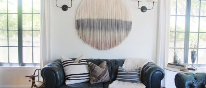 Wall Rug Interior Decoration by Lauren Williams